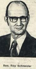 Rev. Roy Schneider