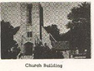 Exterior of church circa 1960